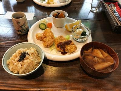 根津の谷ランチの日替わり定食