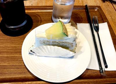 巣鴨 タカギヤ(TAKAGIYA)のメロンシフォンケーキ