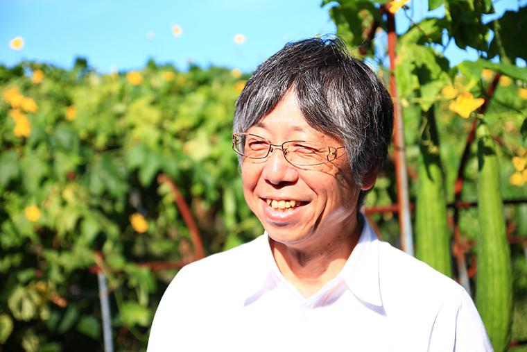 へちまの里の瀧田さん